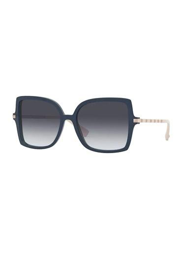 Valentino Valentino 0Va4072 50348G 56 Ekartman Kadın Güneş Gözlüğü Mavi